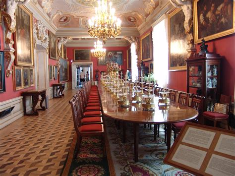 An Dining Room In File Wilanow Dining Room Jpg Wikimedia Commons