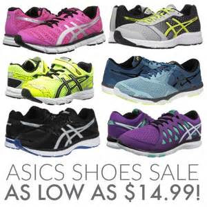 asics tennis shoes on sale for as low as 14 99 today