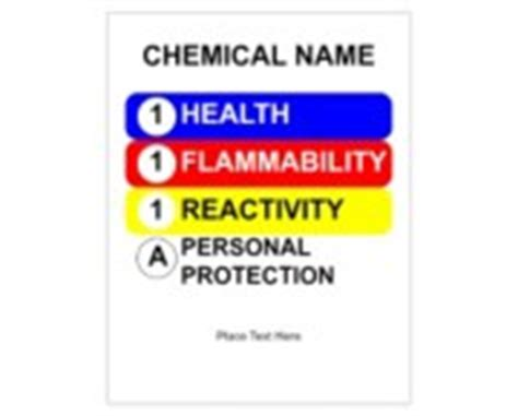 Avery Design Print Online Ultraduty Ghs Chemical Labels Templates Hmis Label Template Free