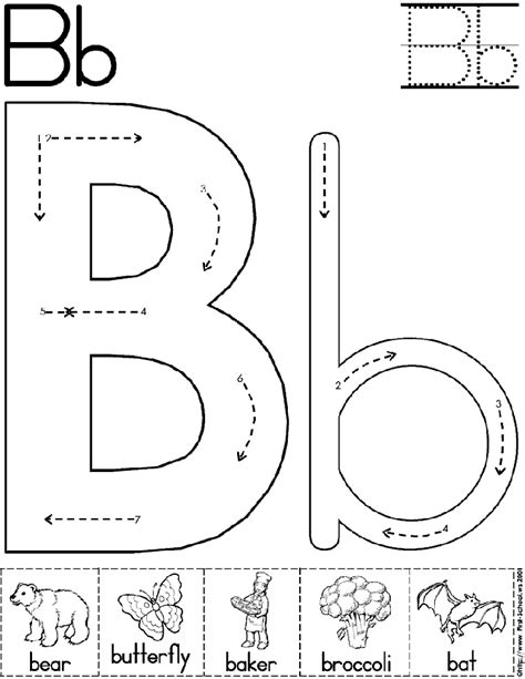 preschool alphabet activities alphabet letter b worksheet preschool printable activity