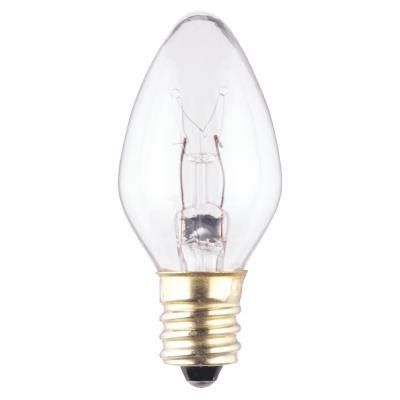 c7 light bulb base westinghouse c7 7 1 2 watt candelabra base incandescent l