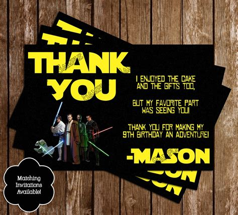 printable thank you cards star wars novel concept designs star wars birthday party thank you