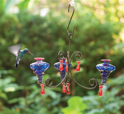 Chandelier Hummingbird Feeder Charleston Gardens