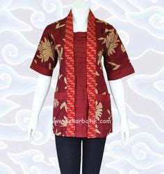 Baju Kerja Wanita Big Size Batikkkk On Blouses Kebaya And Batik Dress