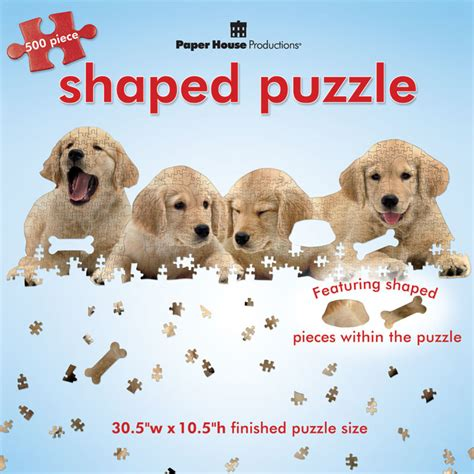 golden retriever puzzles golden retriever puppies jigsaw puzzle puzzlewarehouse