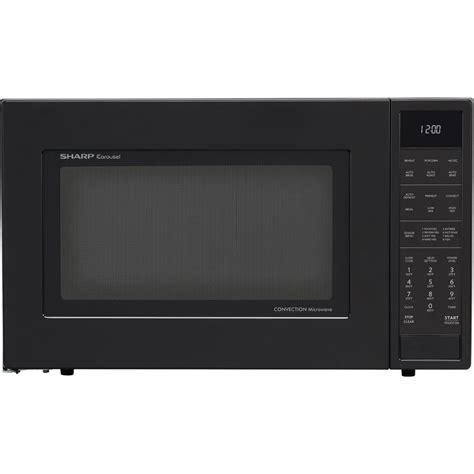 Convection Countertop Microwave by Smc1585bb Sharp 1 5 Cu Ft Convection Microwave Built