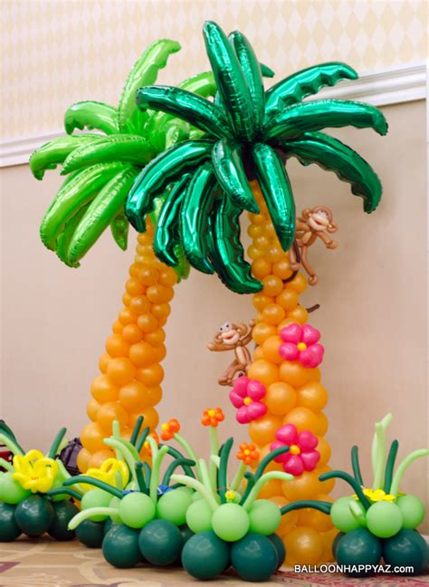 Hawaiian Balloon Decorations by Balloon Decorating We Specialize In Unique Designs