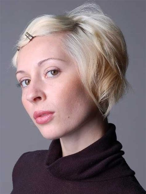 hairstyles for short hair without bobby pins adorable short hairstyles with bobby pins short