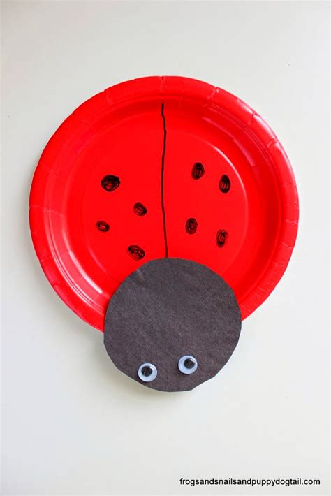 Ladybug Paper Plate Craft - ladybug paper plates crafts for september