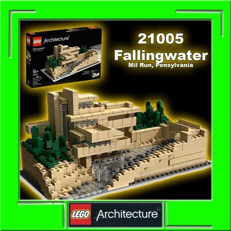 Toys Lego Architecture Fallingwater 21005 lego architecture 21005 fallingwater mill run pensylvan ebay