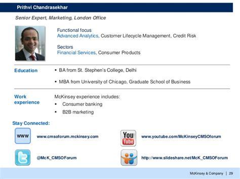 Ibm Chicago Mba Program by Mckinsey Company 29