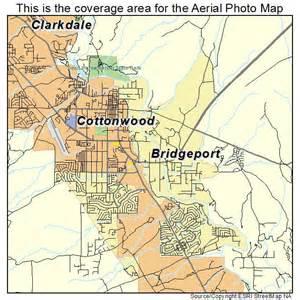 aerial photography map of cottonwood verde az arizona