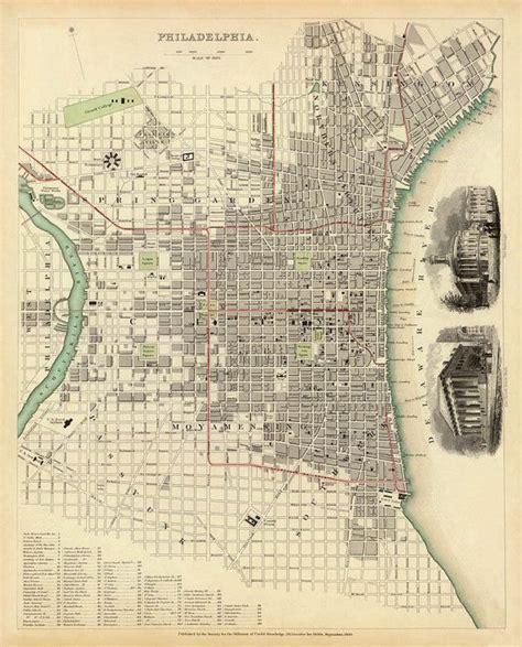 antique map of philadelphia antique map of philadelphia home