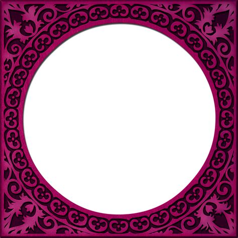 Style Of Home presentation photo frames round style 07