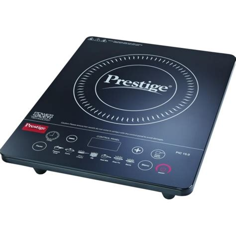 Induction Cooktop Specifications - prestige pic 15 induction cooktop black touch panel
