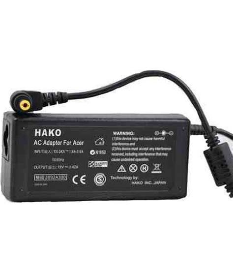 Hako Acer Aspire One hako acer aspire 5738 19v 3 42a 65w power adapter battery