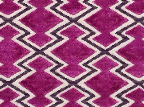 graphic patterned velvet fabric jacquard velvet fabric with graphic pattern wow by dedar