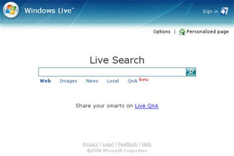 Us Search Search Microsoft Unleashes Live Search A Look