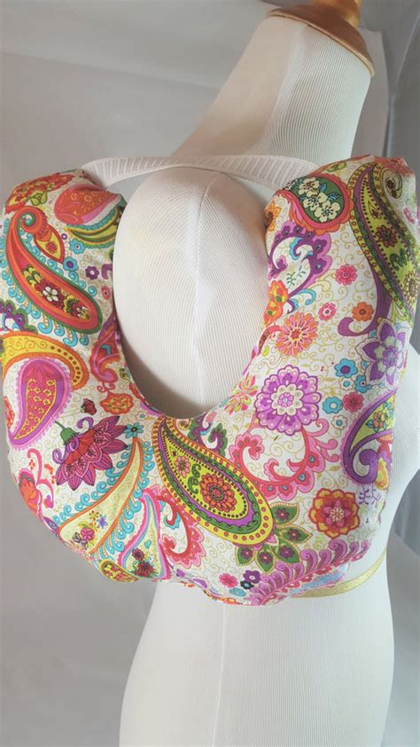 Post Surgery Pillows by Post Surgery Mastectomy Pillow Brite Paisley 7 Stiches