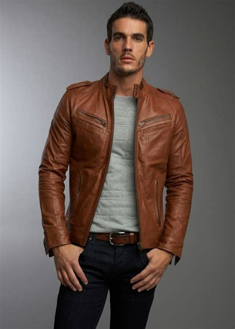 Jaket Bomber Polos Grey B2 49 best s brown leather jackets images on