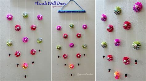 decoration ideas diy wall decoration idea how to make easy paper wall