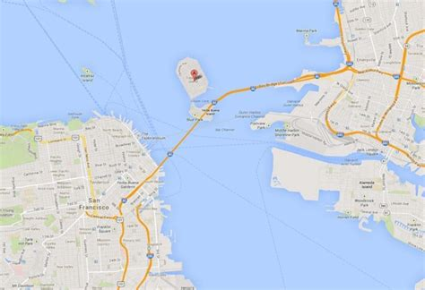 san francisco treasure island map on mysterious floating barge projects ny