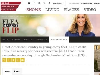 gac s great american country giveaway sweepstakes sweepstakes fanatics - Gac Great American Country Giveaway Sweepstakes