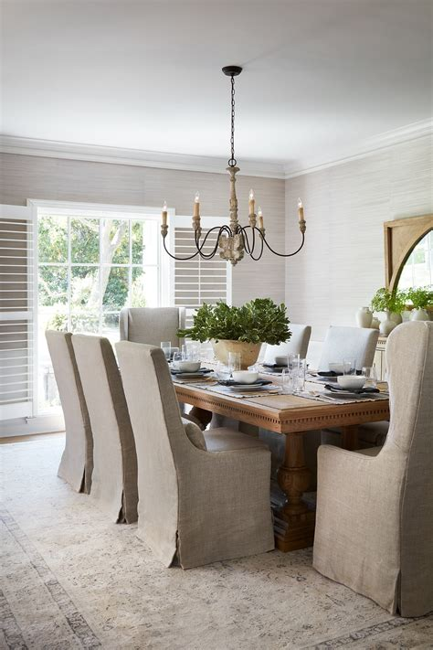 fixer upper club house french country dining room