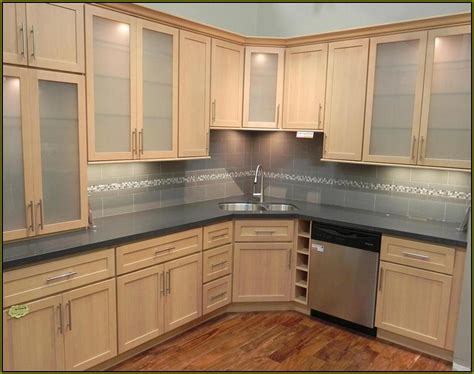 kitchen cabinets laminate colors laminate kitchen cabinets with wood trim home design ideas