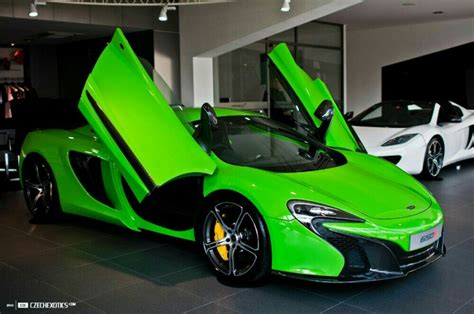 McLaren 650S show in lime green   Teamspeed.com