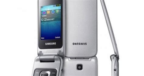 Hp Samsung Lipat C3520 samsung citrus c3520 hp murah sekilas mirip dengan iphone 5 review hp terbaru