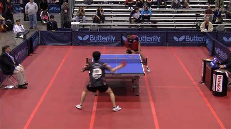men s singles qf timothy wang vs niraj oak 2011 us