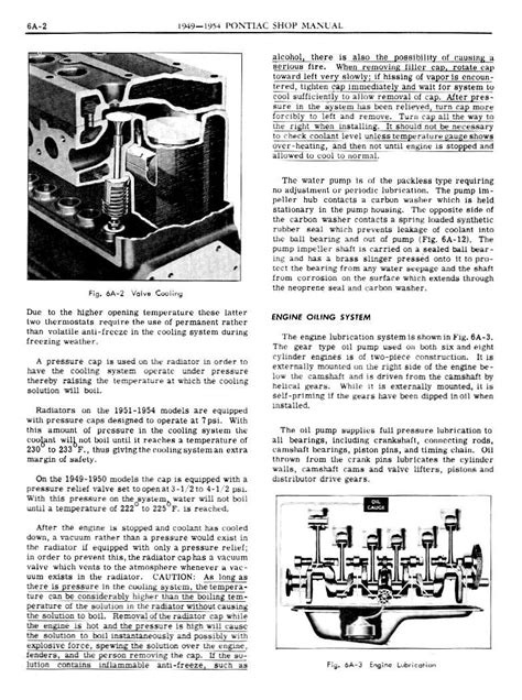 small engine repair manuals free download 1973 pontiac gto transmission control 1949 pontiac shop manual engine cooling and oiling page 2 of 14