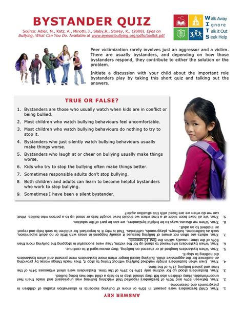 printable bullying quiz pin by dana moses on counseling bullying pinterest