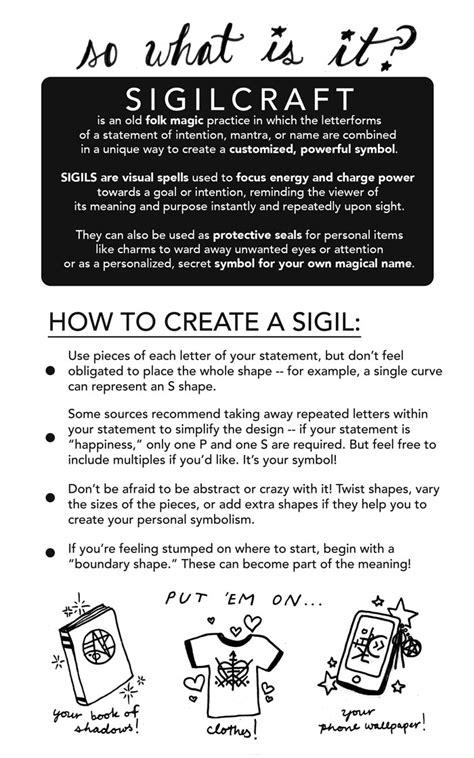 A Quick Lesson in Sigilcraft • POMEgranate Magazine