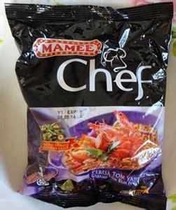 layan mamee chef perisa tom yam thai yumida