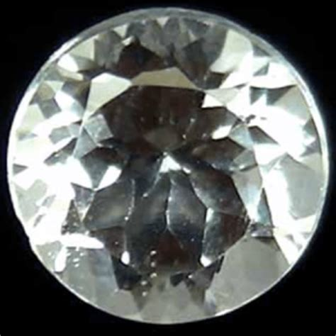 Chagne Topaz 5 16ct 2 36 ct colorless white topaz gemstone for sale