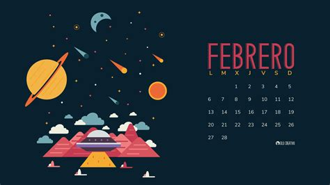 Febrero 2017 Calendario Calendario Descargable Febrero 2017 Silo Creativo