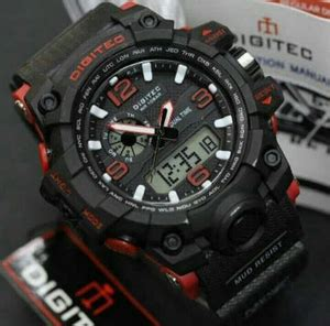 Jam Tangan Digitec 2092 Pria Green Dual Time Original jam tangan digitec 2093 dual time pria cowo jam tangan