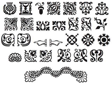 typography ornaments the american type new hshire