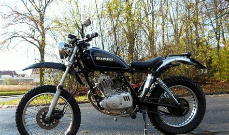 Motorrad Suzuki Gn 250 Tuning by Suzi Gn 125 D Tracker Product Information Cafe Meister S