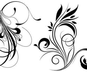 floral pattern vector cdr files การ ต นลายเส นเวกเตอร ลายดอกไม ลายนกดอกไม เวกเตอร ดอกไม