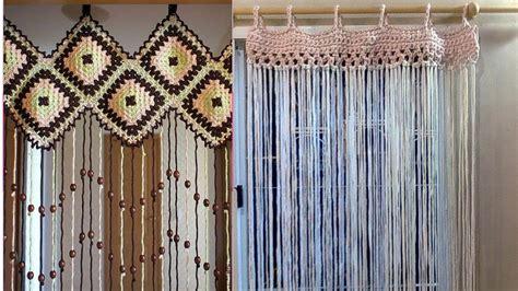 cortinas tejidas como hacer tu cortina para tu ventas tejidas a crochet