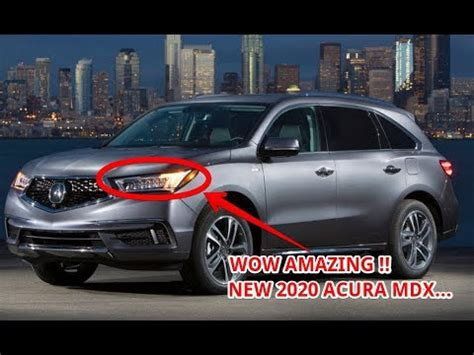watch now!! 2020 acura mdx redesign youtube