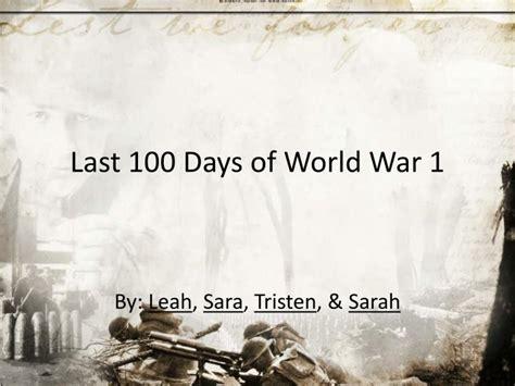 world war 2 powerpoint template ww1 powerpoint template ppt last 100 days of world war 1
