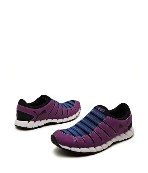 no lace sneakers purple no lace no worry sneakers price in india