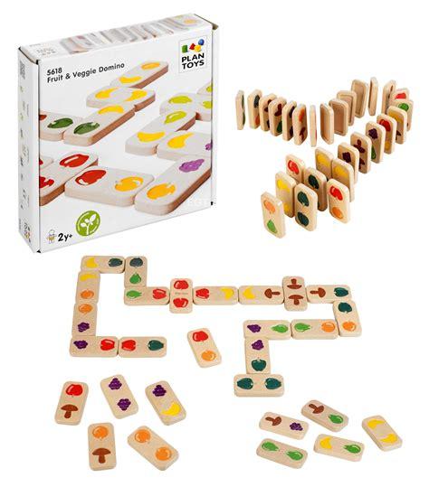 domino for kids children educational game printable childrens wooden fruit veg dominoes game play wood kids