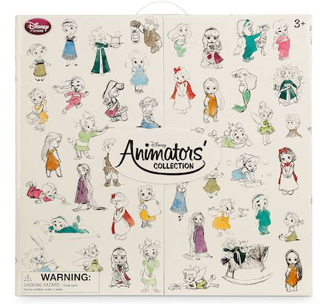 Disney Deluxe Mini Animators? Collection Box Set   Family