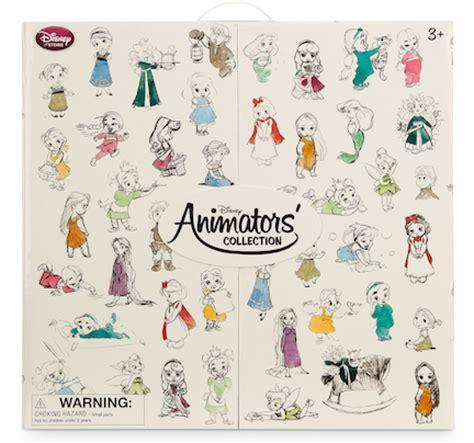 disney deluxe mini animators' collection box set | family