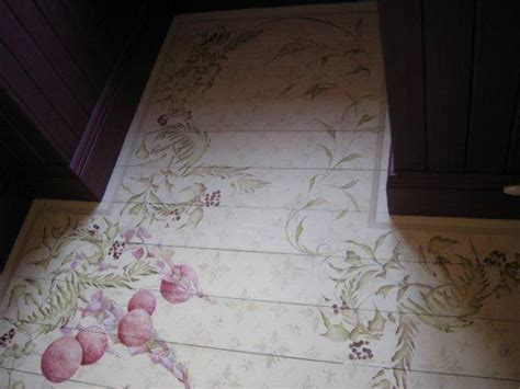 Painted Wood Floor Ideas Stencils And Creative Painting Ideas For Wood Floor Decoration